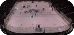 Hockey Player Tracking from Multiple Views